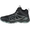 Merrell Capra Rise Mid Waterproof Shoes Men Black